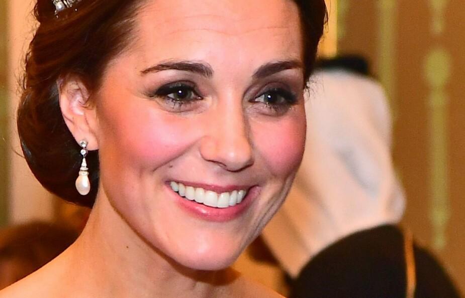 STRÅLER: Hertuginne Kate er en av verdens vakreste kvinner.