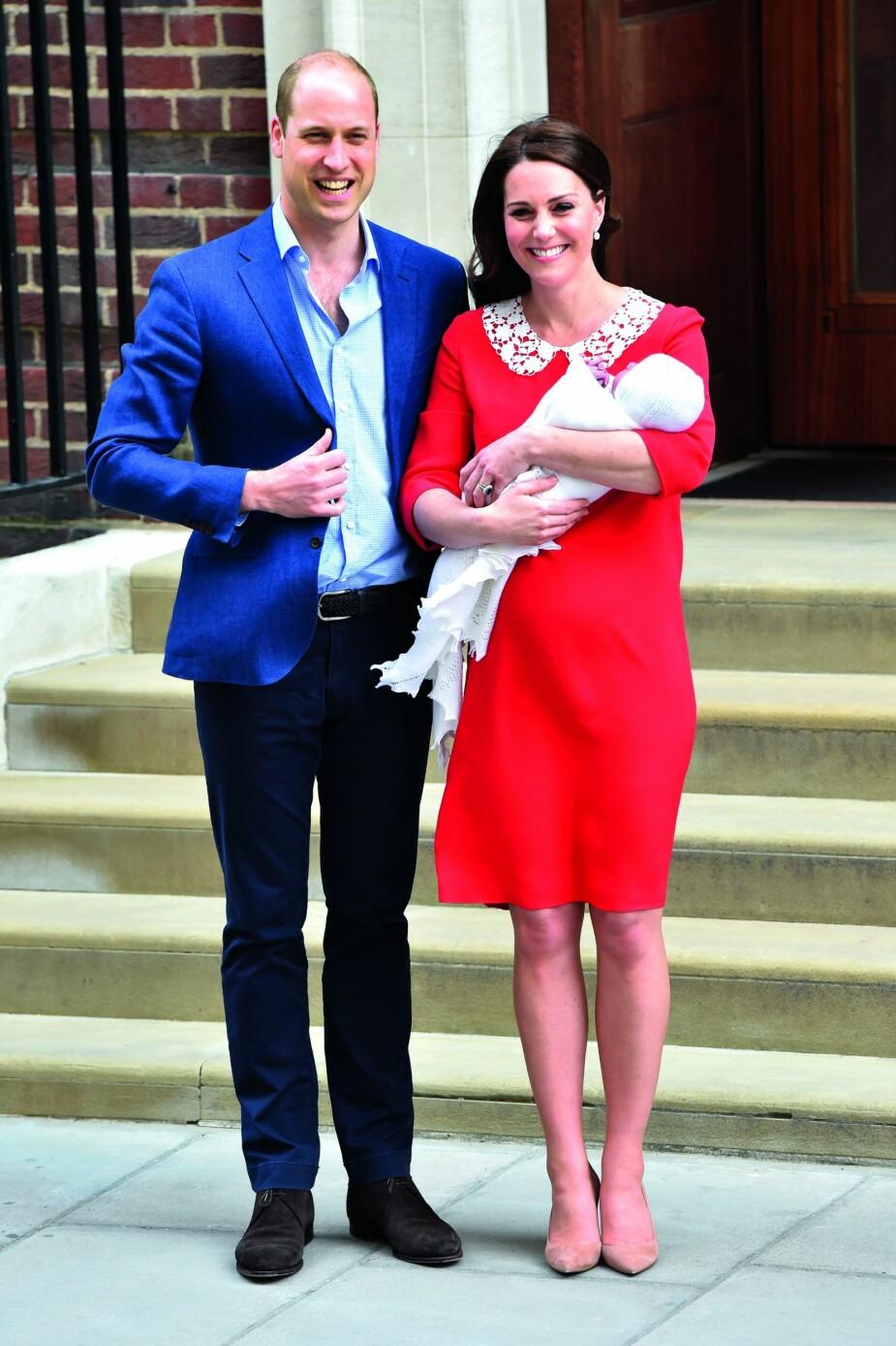 <b>FORT I FORM:</b> Kate har hatt tøffe svangerskap med ekstrem kvalme. Likevel har hun kommet seg raskt etter alle graviditetene og ganske raskt vært i full vigør igjen etter fødselen.