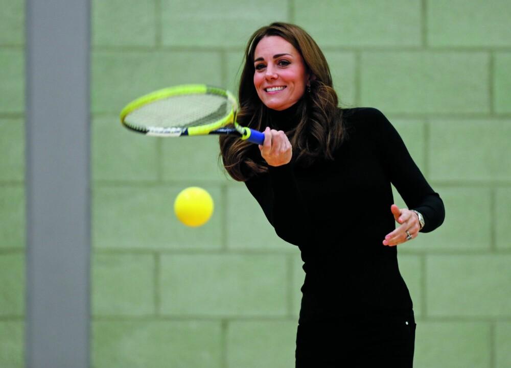 <b>VELTRENT:</b> Kate har en utrolig flott og veltrent figur, men det kommer ikke gratis. Hun har sverget til et strikt kosthold og kontinuerlig trening opp gjennom årene.