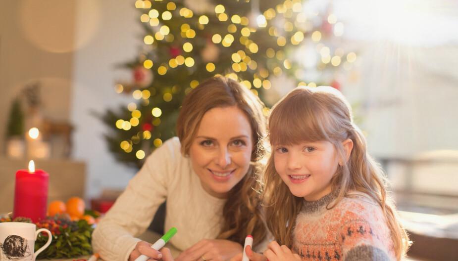 KOSELIG SAMMEN: Dere kan invitere venner til juleverksted, eller bare være de aller nærmeste.