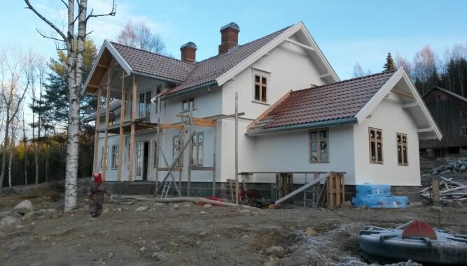 GAMMEL STIL: Huset er helt nytt, men stilen er gammel.