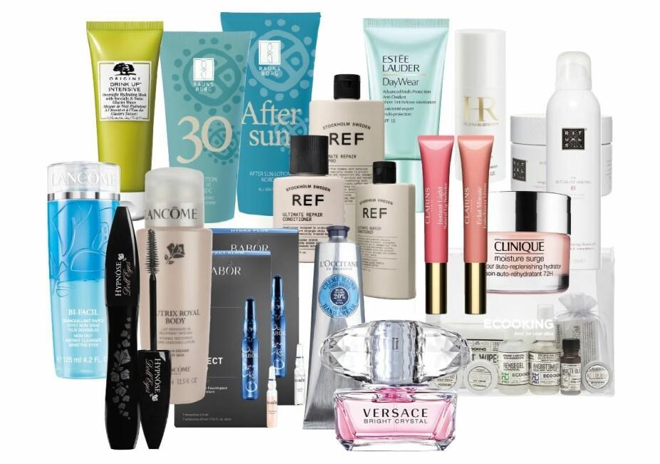 Alle disse produktene kan bli dine - om du svarer på vår undersøkelse.