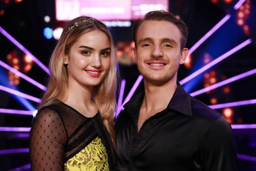 <b>SVINGTE SEG SAMMEN:</b> Adelén Rusillo Steen og proffdanser Benjamin Jayakoddy gikk helt til topps sammen. De fant også lykken privat.