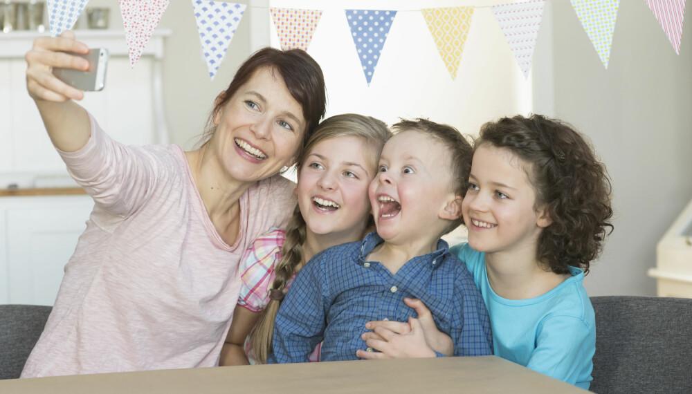 ER DU BEVISST PÅ DETTE? Visste du at du alltid må ha samtykke fra barnets foreldre, dersom du vil dele et bilde?