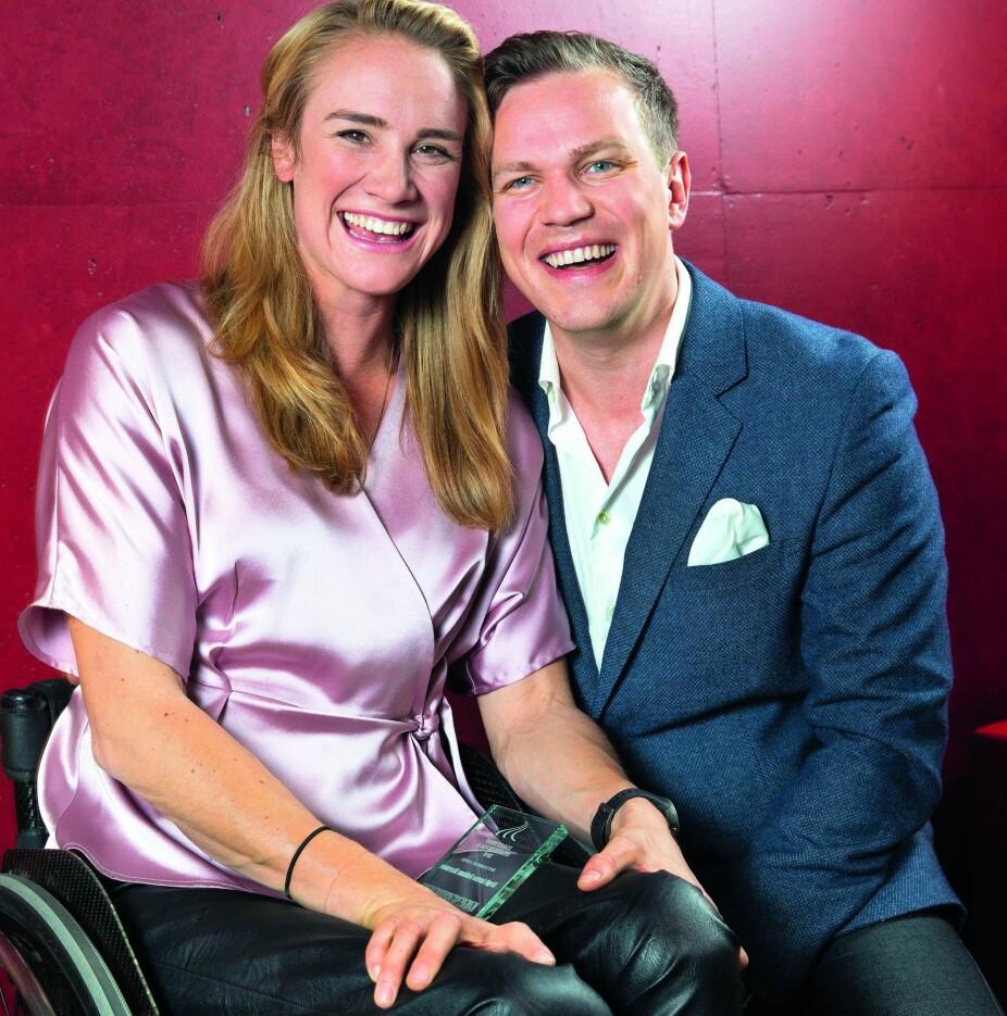 GODE VENNER: Birgit Skarstein og Martin Sletten var kjærester i fire år.