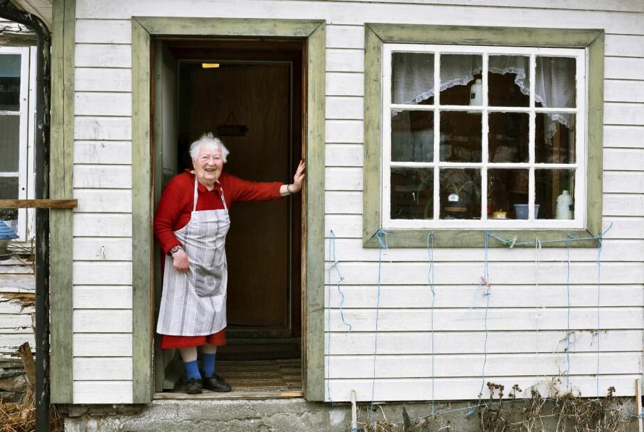 NYTER LIVET: Det er viktig å nyte livet mens man lever, sier Nikka Myren Grønning.
