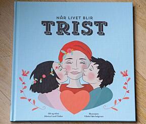 """<b>Monica har skrevet bok:</b> """"Når livet blir trist"""" av Monica Lund Osther."""