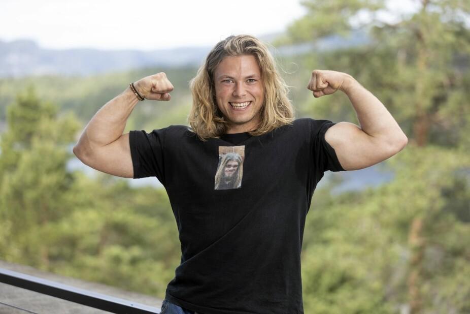<b>VINNERSKALLE:</b> Erik Rotihaug ga alt under Farmen på TV 2. Han er svært takknemlig for alt han lærte under oppholdet.