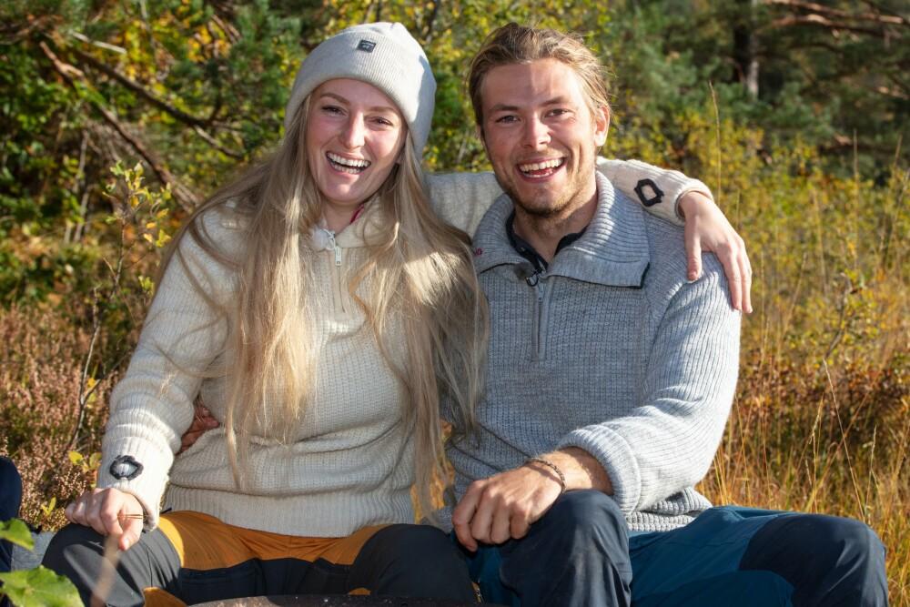<b>HARD DRAGKAMP:</b> Erik og Ingebjørg Monique hadde mange tøffe kamper underveis i konkurransen.