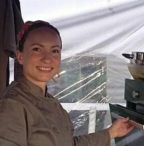 Daglig leder av bakeriet Rykende Fersk Boulangerie, Lidia Didriksen