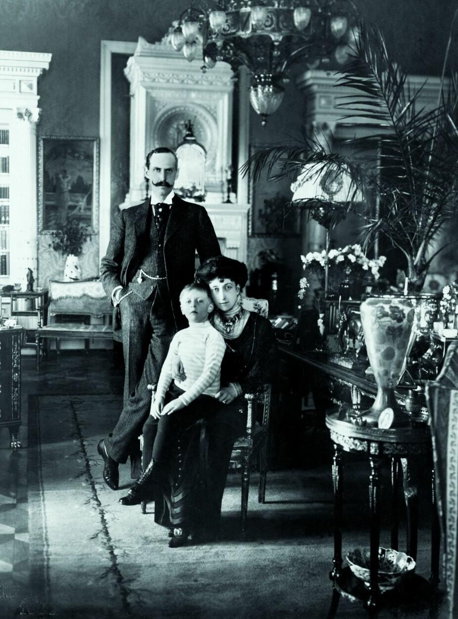 <b>NYTT HJEM I NYTT LAND:</b> Dronning Maud og kong Haakon fikk 22 gode år sammen i Norge før dronningen døde i 1938. Kong Haakon satt på tronen til sin død i 1957.