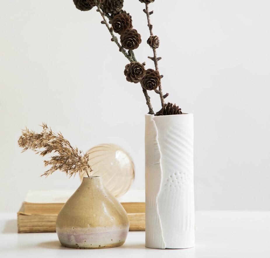 UNIK VASE: Det er helt garantert ingen som har helt lik vase som deg.