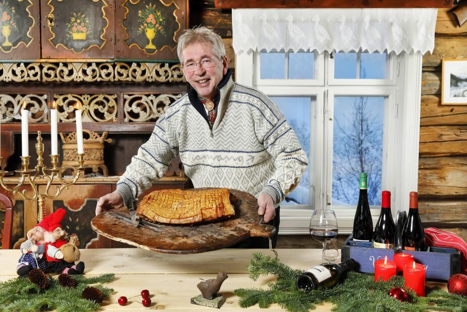 <b><BR/>JULEFRED:</b> I julen senker Arne Brimi skuldrene med familien, en god bok og selvfølgelig etdeilig julemåltid.