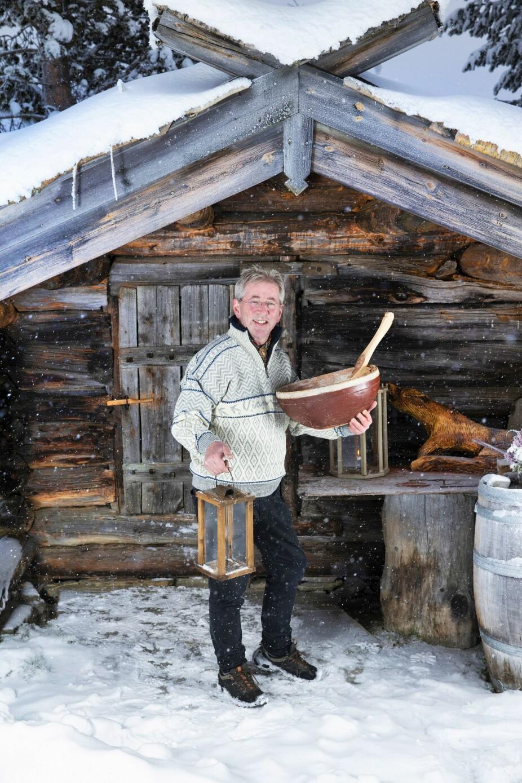 <b>ANDRE HJEM:</b> Den folkekjære kokken har etablert sitt drømmekjøkken i naturskjønne Brimiland. Hit kommer gjestene langveis fra for å prøve ut hans kulinariske fristelser.