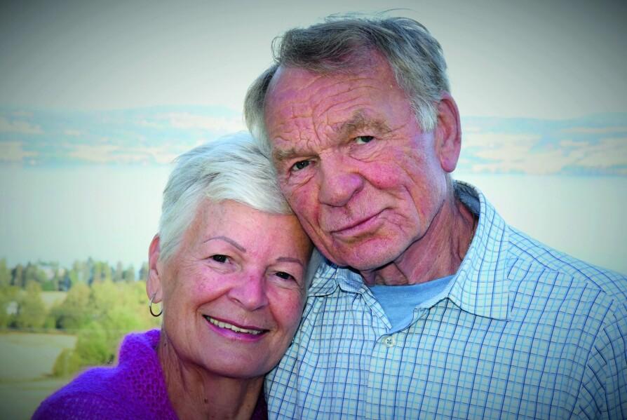 <b>SAMMEN IGJEN:</b> Først og fremst nyter Brigitte og Roar å være sammen – etter 58 år fra hverandre.