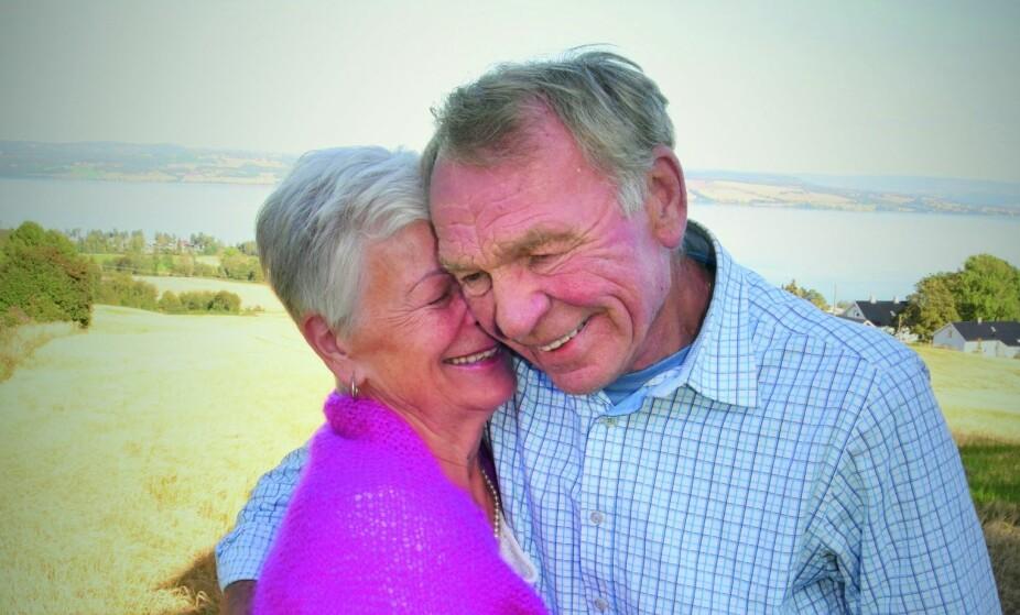<b>KJÆRLIGHET:</b> Det er mer enn forelskelse, sier det lykkelige paret.