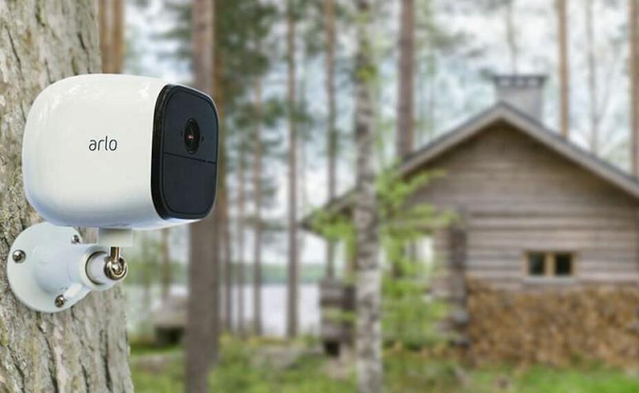 ALT I ETT: Et kamera med bevegelsesdetektor varsler deg og sender video til telefonen når noe skjer.