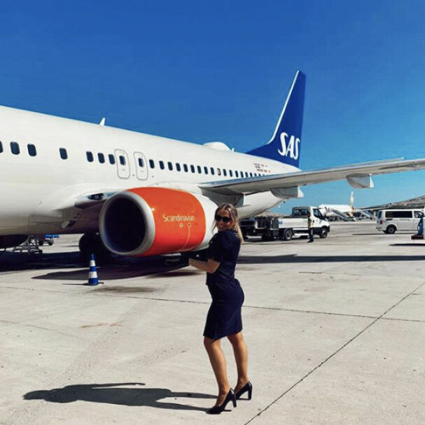 AUTHOR: Karianne Vilde loves her job as a flight attendant.  Unfortunately, it is currently released because air traffic is severely affected by the corona pandemic.