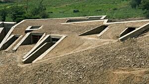 Denne jordhaugen skjuler et unikt hjem