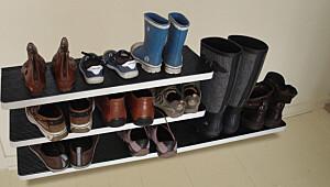 Få orden på skoene i gangen