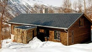 Moderne hytter på fjellet