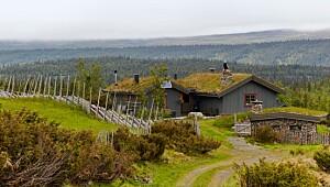 Denne hytta er flere hundre år gammel