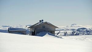Full komfort i den nye hytta - uten strøm og vann