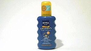 Nivea children's sun spray