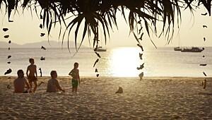 Reis til Thailand med barna