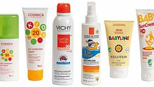 Her er de tryggeste solkremene til barn