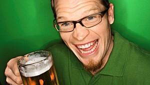 Litt for mange øl i går?