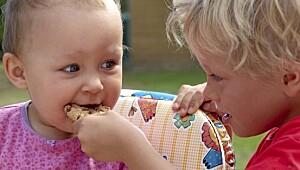 Slik får du barna til å spise