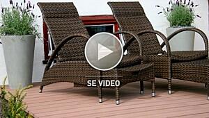 Miljøvennlige terrassegulv