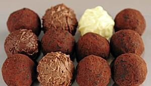 Slik lager du sjokoladetrøfler