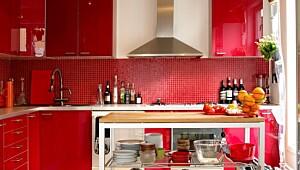 Nytt kjøkken med spray