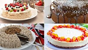 Fire oppskrifter på kake uten egg