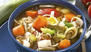 Ned i vekt med suppekur