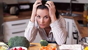 Du blir ikke slank av sunn mat