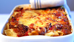 Deilig lasagne uten pastaplater
