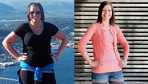 Linn-Mari gikk ned 37 kilo