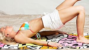 Åtte effektive øvelser for mage, rumpe, lår og armer