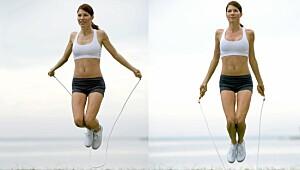 Du forbrenner dobbelt så mye som når du jogger