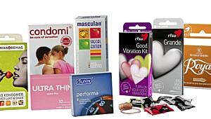 Slik velger du riktig kondom