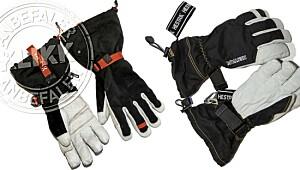 Stor test av hansker til vinterbruk