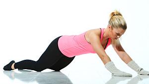 Skliøvelsen som styrker mage og rygg