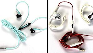 De beste ørepluggene til trening