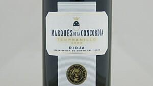 Marqués de la Concordia Tempranillo 2009