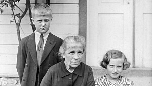 Asbjørg (8) grep tak i bestemors nattkjole i siste sekund