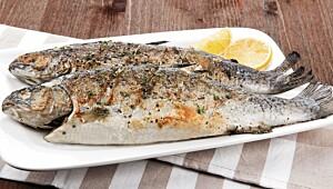 Spis fisk til middag to til tre ganger i uken. Bruk også gjerne fisk som pålegg