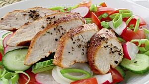 Velg magert kjøtt og magre kjøttprodukter. Begrens mengden bearbeidet kjøtt og rødt kjøtt